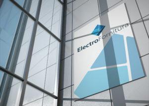 візуалізація розробленого логотипу, ТМ Електрофурнітура