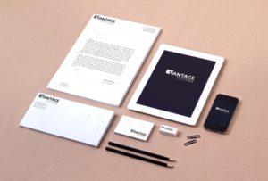 Розробка фірмового стилю для ТМ Vantage System. м.Київ